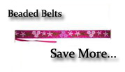 Beaded Belts: Online Shopping with Free Shipping